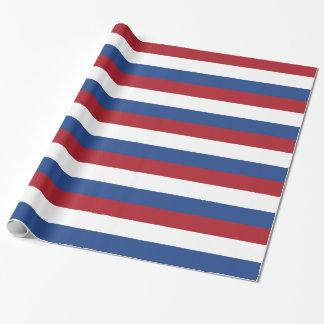 Flagge der Niederlande Geschenkpapier