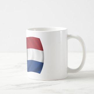 Flagge der Niederlande Kaffeetasse