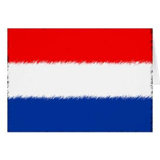 Flagge der Niederlande Karte