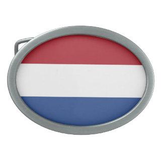 Flagge der Niederlande Ovale Gürtelschnalle