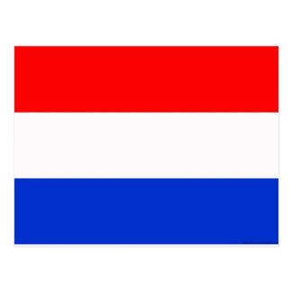 Flagge der Niederlande Postkarte