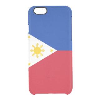 Flagge der Philippinen klären iPhone Fall Durchsichtige iPhone 6/6S Hülle