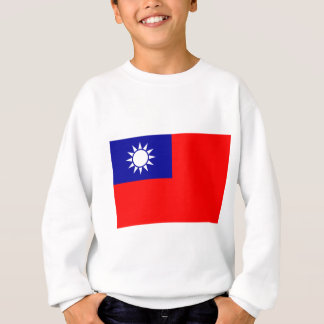 Flagge der Republiks China (Taiwan) - 中華民國國旗 Sweatshirt