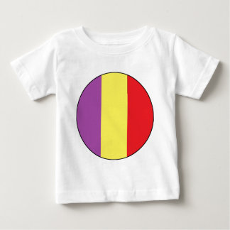 Flagge der spanischen Republik - Bandera Tricolor Baby T-shirt