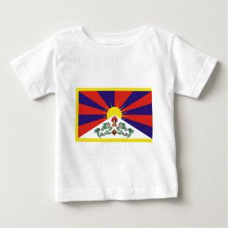 Flagge der Tibet- oder Schnee-Löwe-Flagge Baby T-shirt