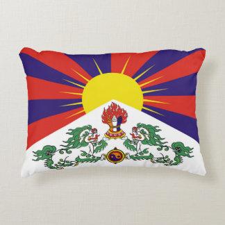 Flagge der Tibet- oder Schnee-Löwe-Flagge Dekokissen