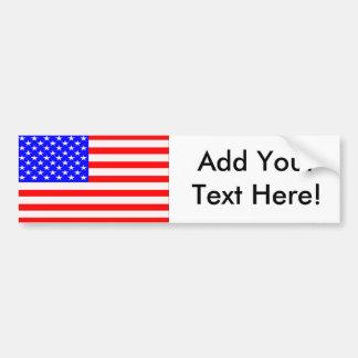 Flagge der Vereinigten Staaten Autoaufkleber