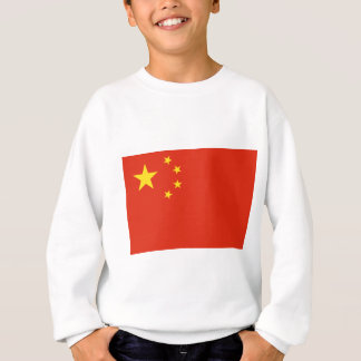 Flagge der Volksrepublik China Sweatshirt