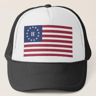 Flagge der zweiten amerikanischen Revolution Truckerkappe