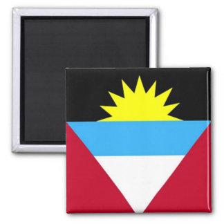 Flagge des Antigua und Barbuda Quadratischer Magnet
