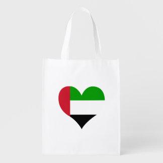 Flagge des Arabers auf Metallhintergrund