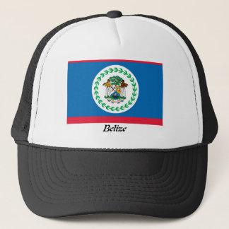 Flagge des Belize-Fernlastfahrer-Maschen-Hutes Truckerkappe