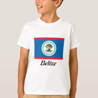 Flagge des Belize-Mädchen-T - Shirt