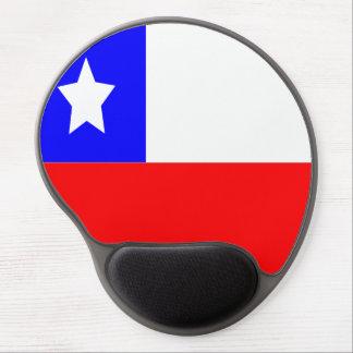 Flagge des Chilen Gel Mousepad