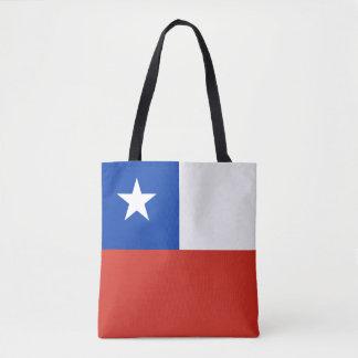 Flagge des Chilen Tasche