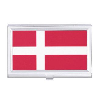 Flagge des Dänemark-Visitenkarte-Halters Visitenkarten-Dosen