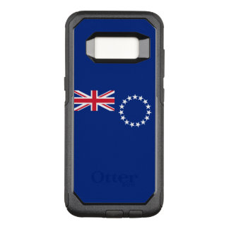 Flagge des Falles Cookinseln-Samsungs OtterBox OtterBox Commuter Samsung Galaxy S8 Hülle