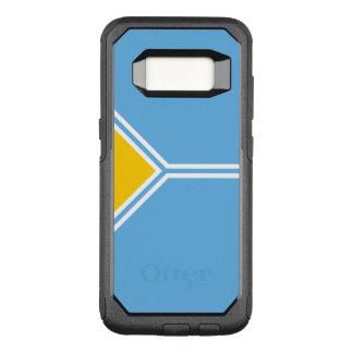 Flagge des Falles Tuwa-Republik-Samsungs OtterBox OtterBox Commuter Samsung Galaxy S8 Hülle