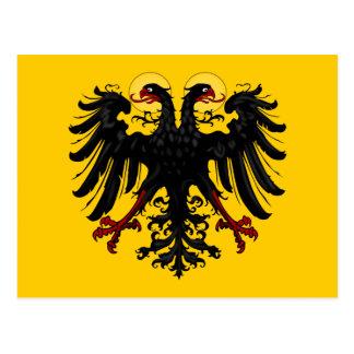 Flagge des heiligen römischen Reiches Postkarte
