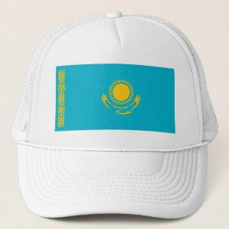 Flagge des Kasachstan-Fernlastfahrer-Hutes Truckerkappe