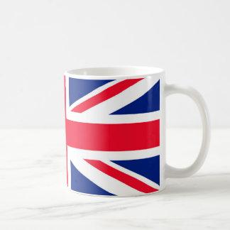 Flagge des Königreich-/Gewerkschafts-Jacks Kaffeetasse