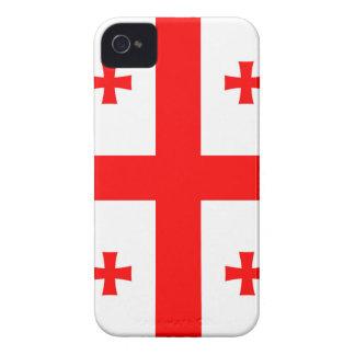 Flagge des Landes von Georgia iPhone 4 Etuis