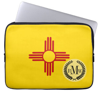 Flagge des New Mexiko Laptop Sleeve