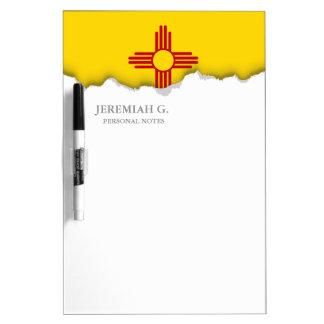 Flagge des New Mexiko Memoboard