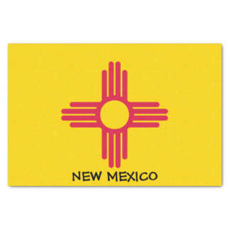 Flagge des New Mexiko Seidenpapier