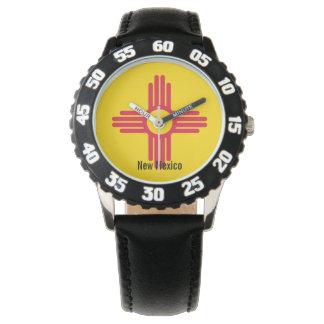 Flagge des New Mexiko Uhr