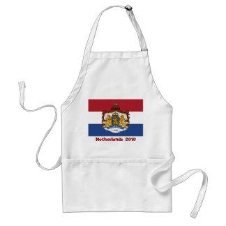 Flagge des niederländischen Wappens GRILLEN Schürze