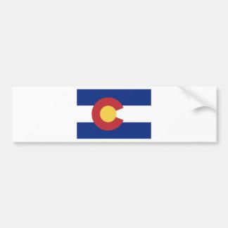 Flagge des Staat von Colorado Autoaufkleber