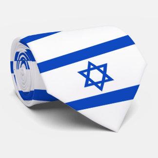 Flagge des Staat von Israel Krawatte