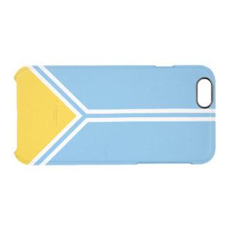 Flagge des Tuwa-Republik-freier Raum iPhone Falles Durchsichtige iPhone 6/6S Hülle