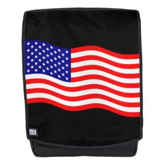 Flagge des USA - Ihre Ideen Rucksack