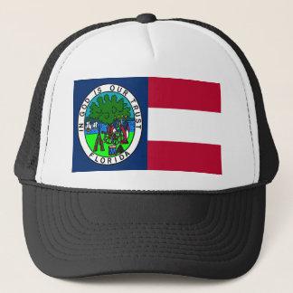 Flagge des verbündeten Staat von Florida 1861 Truckerkappe