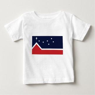 Flagge des Westerns Kanada Baby T-shirt