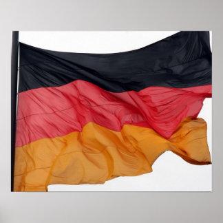 Flagge Deutschland Poster
