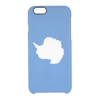 Flagge die Antarktis klaren iPhone Falles Durchsichtige iPhone 6/6S Hülle