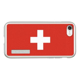 Flagge die Schweiz silbernen iPhone Falles