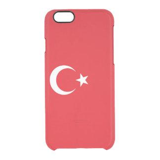 Flagge die Türkei klaren iPhone Falles Durchsichtige iPhone 6/6S Hülle