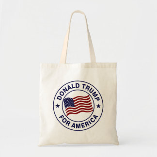 Flagge Donald Trump US Budget Stoffbeutel