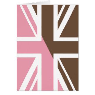 Flagge Eiscreme Gewerkschafts-Jack-Briten Karte