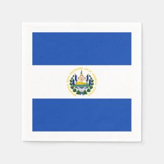 Flagge: El Salvador Servietten