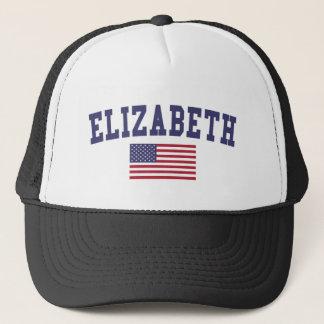 Flagge Elizabeth US Truckerkappe