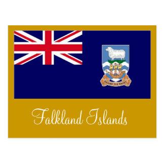 Flagge Falklandinseln Islas Malvinas Postkarte