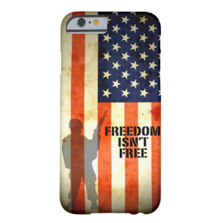 Flagge-Freiheit ist nicht freier iPhone 6 Fall Barely There iPhone 6 Hülle