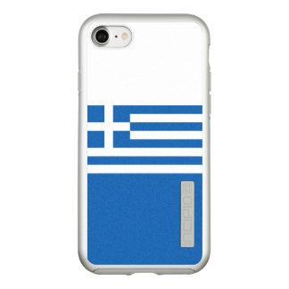 Flagge Griechenland silbernen iPhone Falles