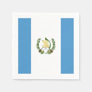Flagge: Guatemala Servietten