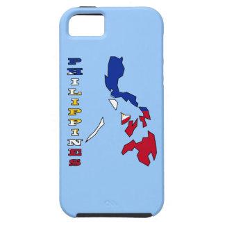Flagge in der Karte der Philippinen Etui Fürs iPhone 5